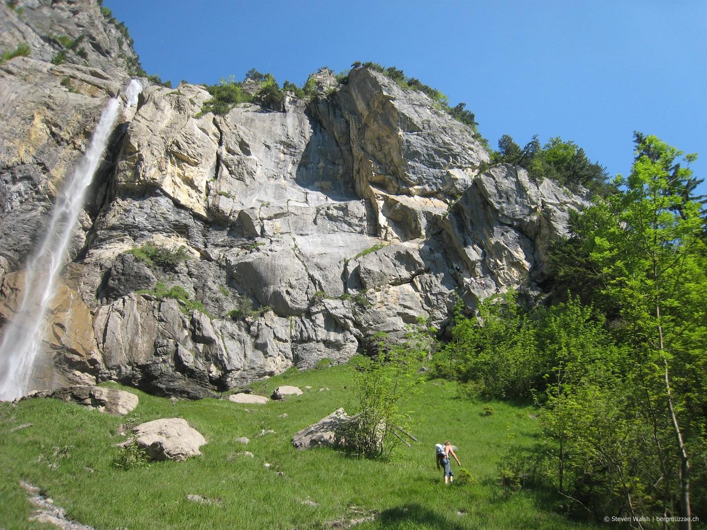 Klettersteig Allmenalp : Allmenalp klettersteig m bergmuzzae