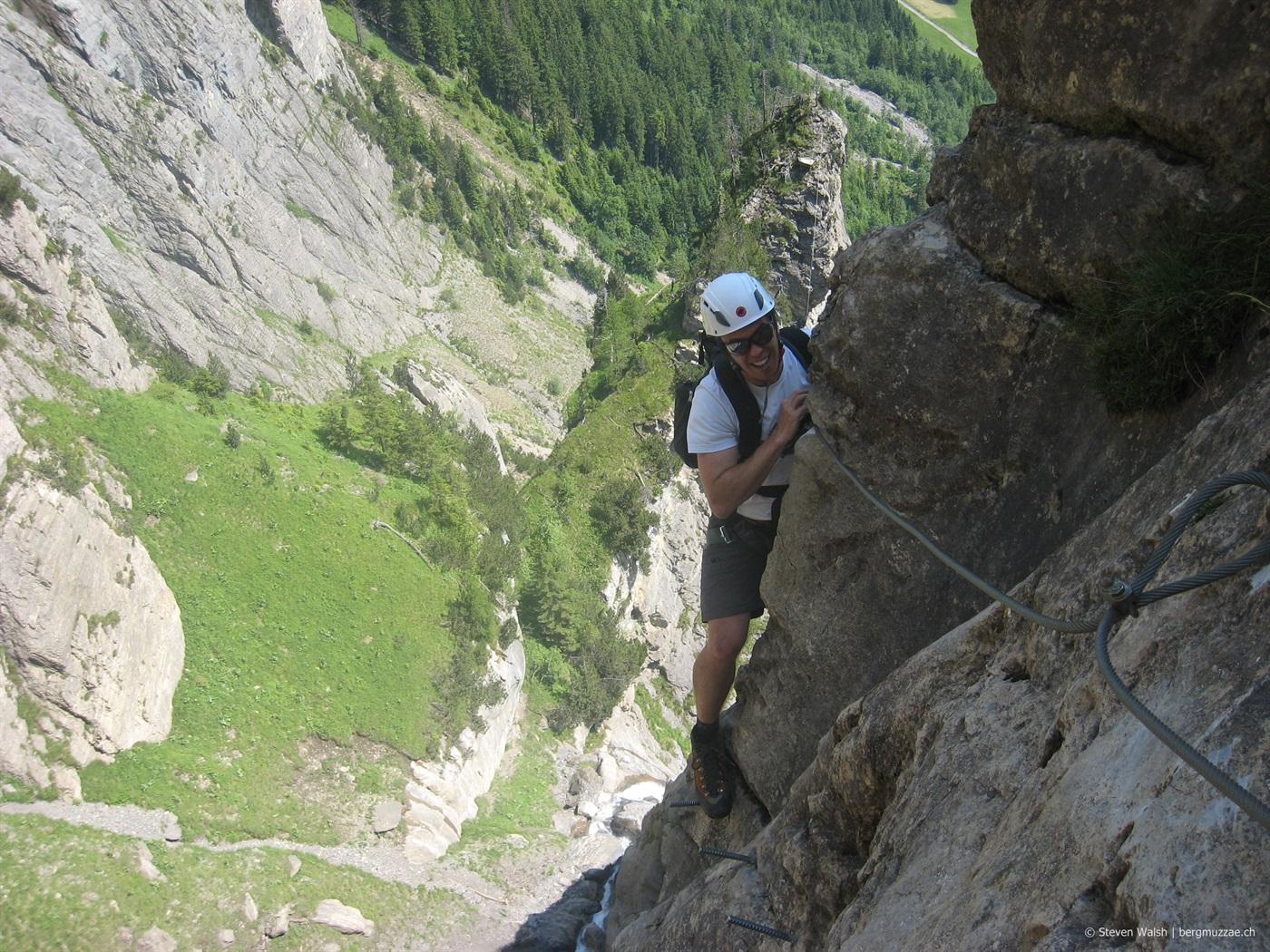 Klettersteig Allmenalp : Allmenalp klettersteig m u bergmuzzae