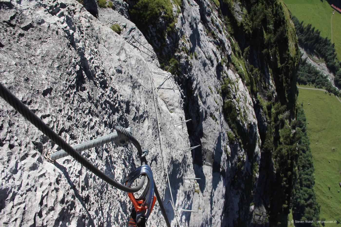 Klettersteig Fürenalp : Fürenwand klettersteig 1850m u2013 bergmuzzae.ch