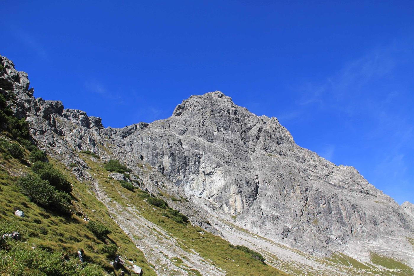 Klettersteig Saulakopf : Saulakopf klettersteig m bergmuzzae
