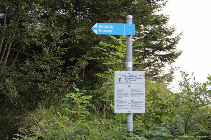Klettersteig Fürenwand : Fürenwand klettersteig m bergmuzzae