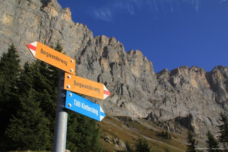 Klettersteig Tälli : Tälli klettersteig 2555m bergmuzzae.ch